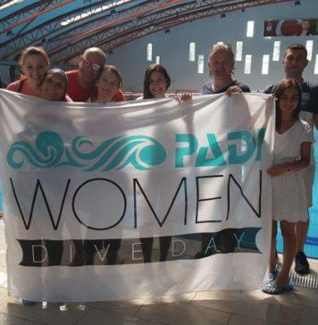 PADI Kadın Dalgıçlar Günü Kutlandı
